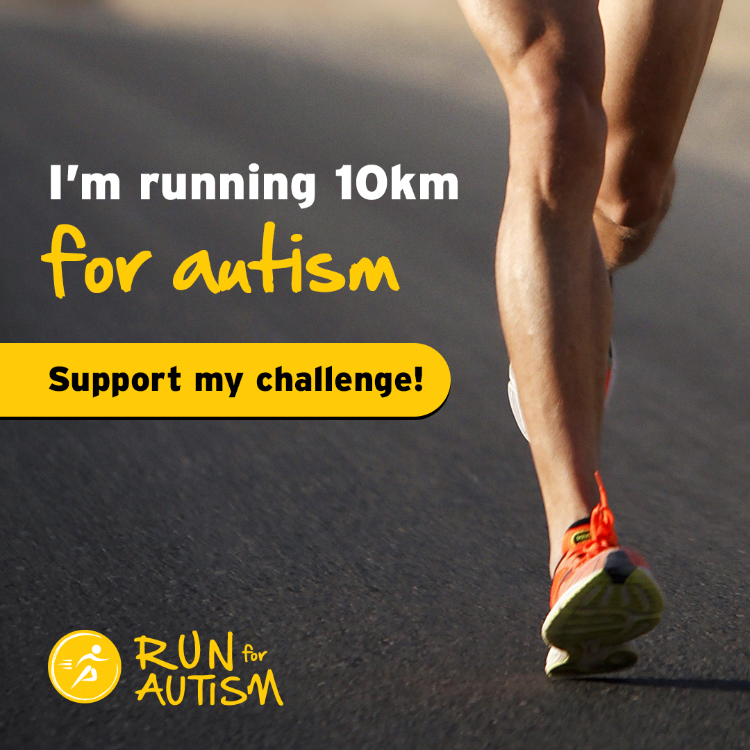 Social post - I'm running 10KM