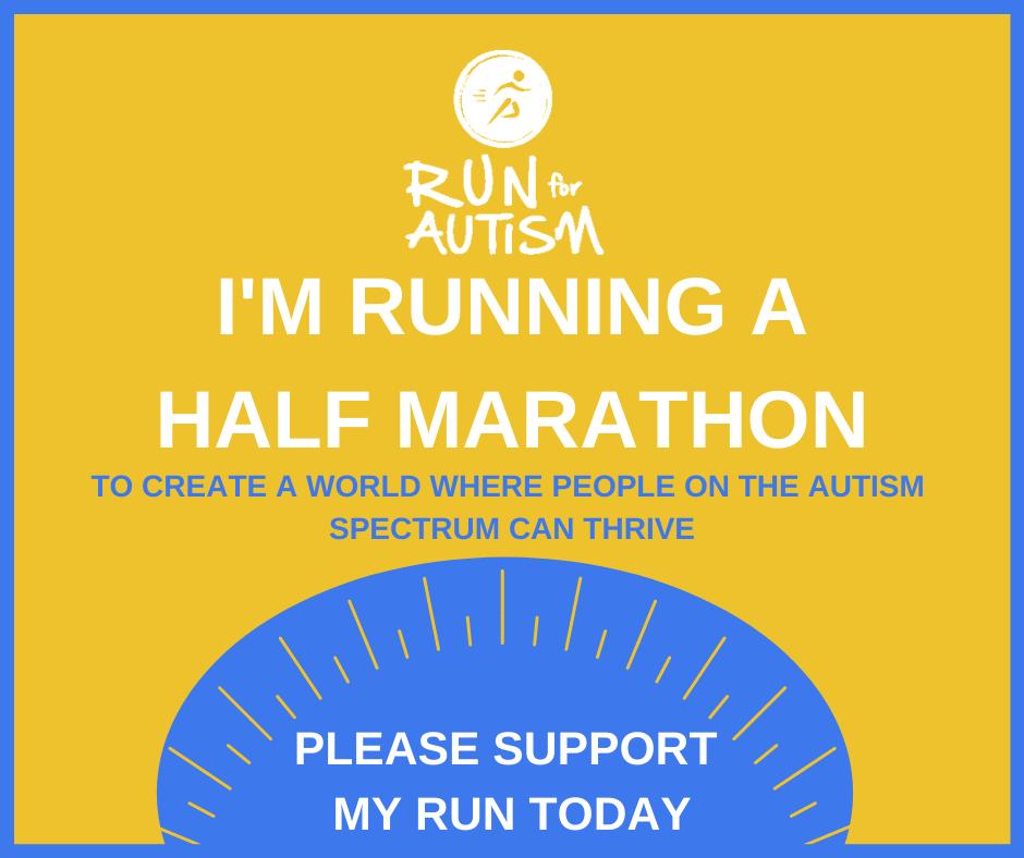 I'm running half marathon