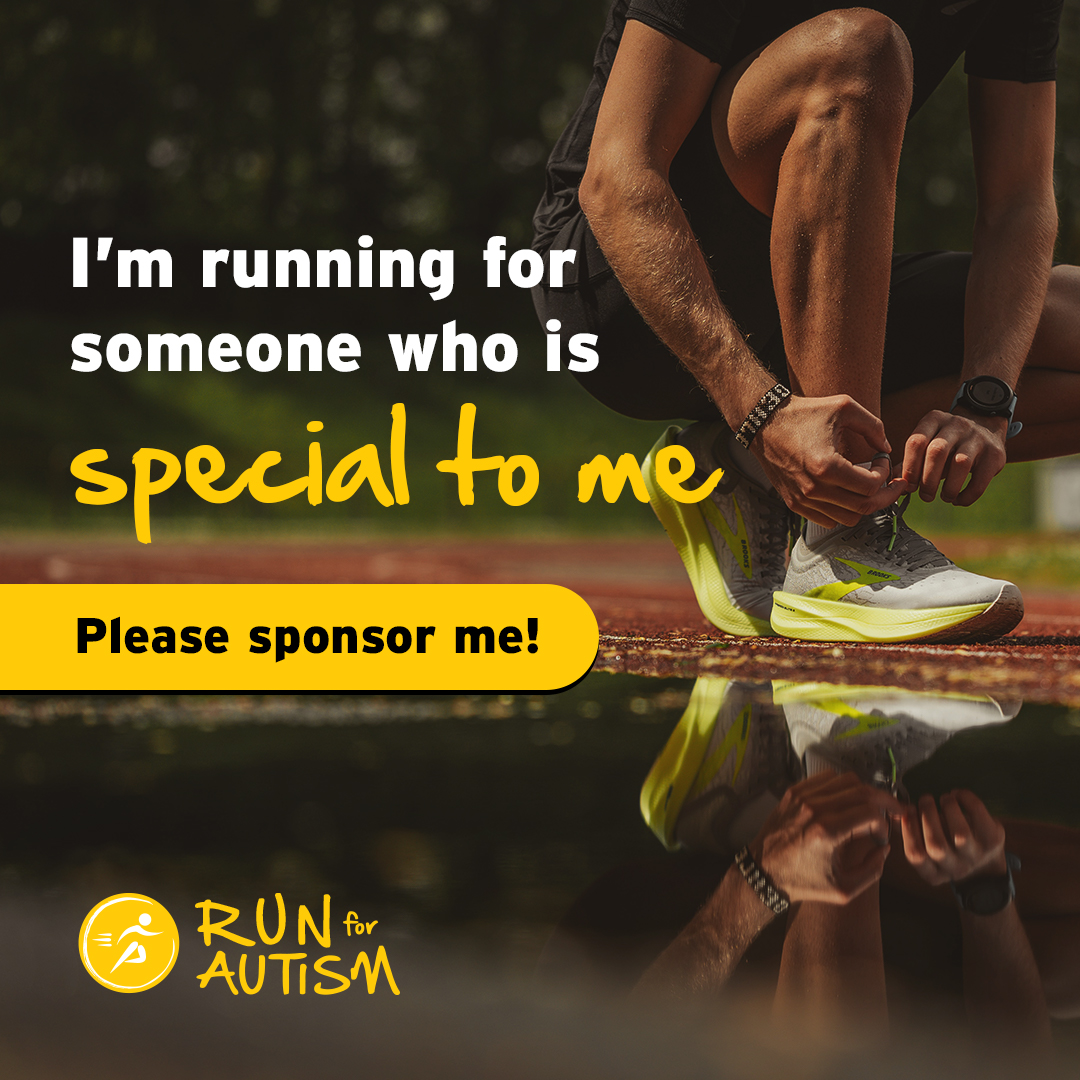 Social post - I'm running for someone special
